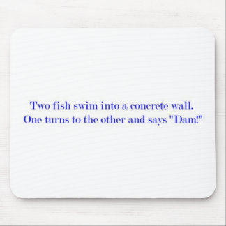 two fish mouse pad