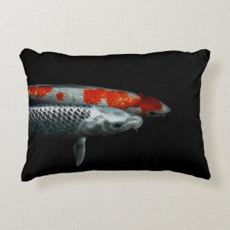 Two Fish Photograph Decorative Pillow