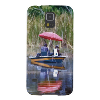 Two Fishermen at the Lake Galaxy S5 Case