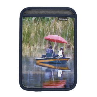 Two Fishermen at the Lake iPad Mini Sleeves