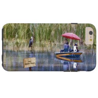 Two Fishermen at the Lake Tough iPhone 6 Plus Case