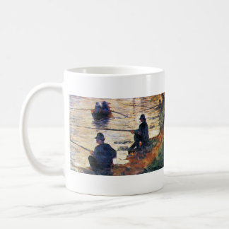 Two Fishermen by Georges Seurat Coffee Mug