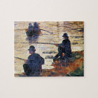 Two Fishermen by Georges Seurat Puzzles
