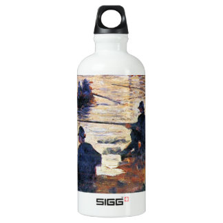 Two Fishermen by Georges Seurat SIGG Traveler 0.6L Water Bottle