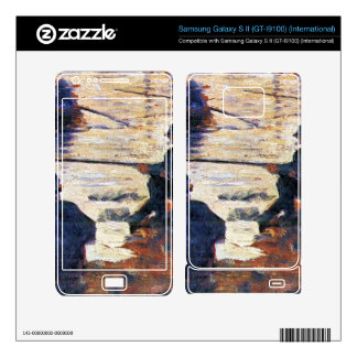 Two Fishermen by Georges Seurat Samsung Galaxy S II Skin
