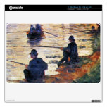 Two Fishermen by Georges Seurat Decal For MacBook Air