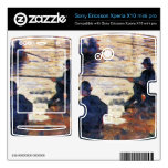 Two Fishermen by Georges Seurat Xperia X10 Skins