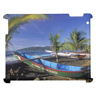 Two Fishing Boats on Tropical Beach Indonesia iPad Cover