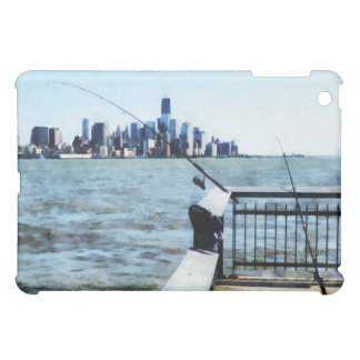 Two Fishing Poles iPad Mini Cover