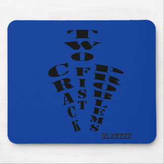 two fist mouse pad