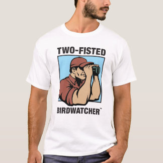 Two-Fisted Birdwatcher Performance Muscle T-Shirt