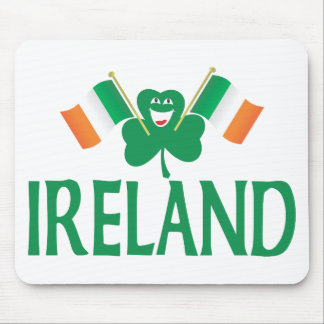 Two Flags of Ireland Mousepads