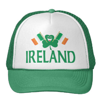 Two Flags of Ireland Trucker Hat