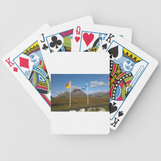 two flags of Scotland Bicycle Playing Cards