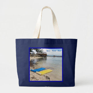 Two Floats Personalized Jumbo Tote Bag