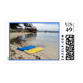 Two Floats Postge Postage Stamp