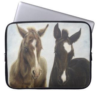 Two Foals Laptop Sleeve