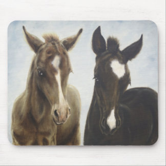 Two Foals Mousepad