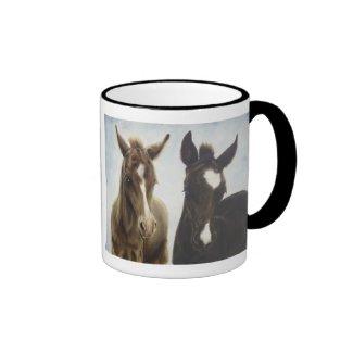 Two Foals Mug