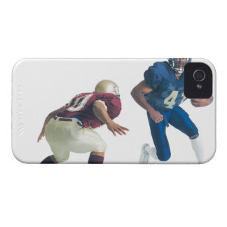 two football players from opposing teams are iPhone 4 covers