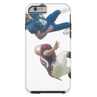 two football players from opposing teams are tough iPhone 6 case