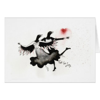 Two for Joy Greeting Card
