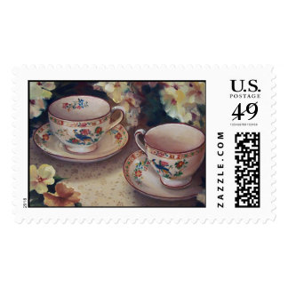 Two for Tea stamp