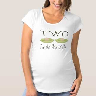 Two for the Price of One Maternity T-Shirt
