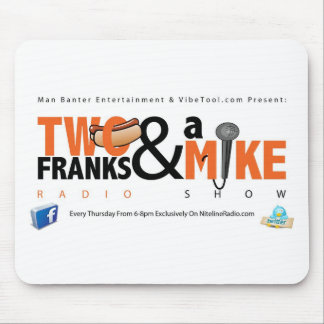 Two Franks & A Mike Mouse Pad