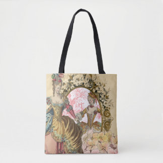 Two French Ladies and a Frame Tote Bag