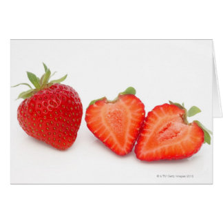 Two fresh, ripe, home grown, organic card