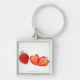 Two fresh, ripe, home grown, organic keychain