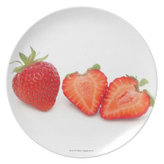 Two fresh, ripe, home grown, organic party plate