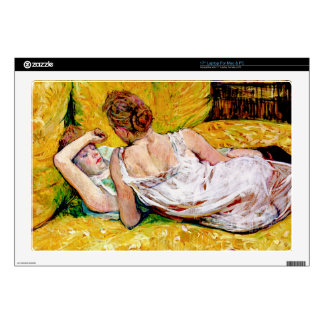 Two Friends by Toulouse-Lautrec - Cover/Case/Skin Laptop Skin