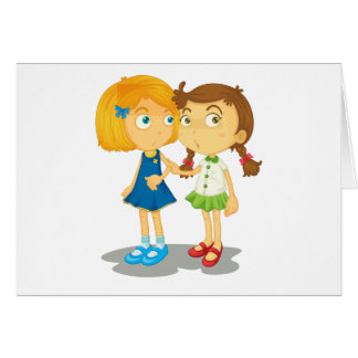 Two friends card
