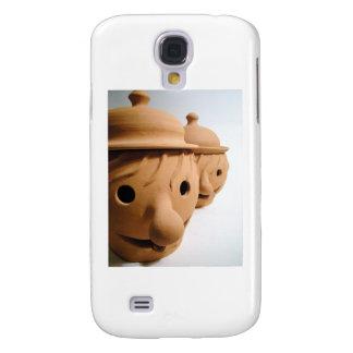 Two funny heads - Unique ceramics Samsung Galaxy S4 Case