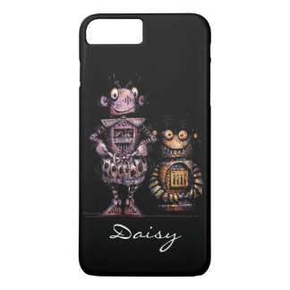 Two Funny Robots! iPhone 7 Plus Case