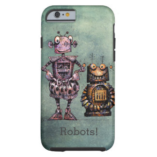 Two Funny Robots! Tough iPhone 6 Case