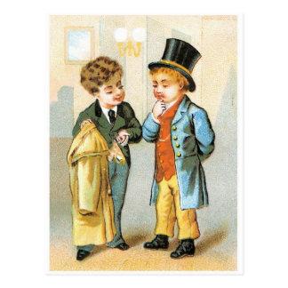 Two Gentlemen Postcards
