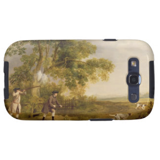 Two Gentlemen Shooting oil on canvas Galaxy S3 Cases