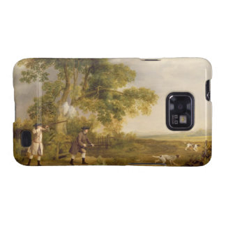 Two Gentlemen Shooting oil on canvas Samsung Galaxy S2 Covers