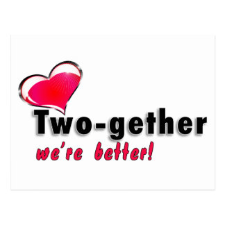 Two-gether somos mejores postales
