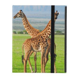Two Giraffes iPad Case
