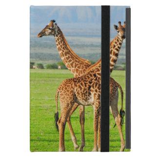 Two Giraffes iPad Mini Cover