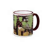Two Girls - Art Nouveau - Jugendstil Coffee Mugs