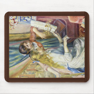 Two Girls At The Piano,  By Pierre-Auguste Renoir Mouse Pad