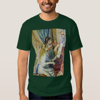 Two Girls At The Piano,  By Pierre-Auguste Renoir T Shirt