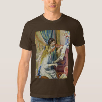 Two Girls At The Piano,  By Pierre-Auguste Renoir T-shirts
