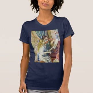 Two Girls At The Piano,  By Pierre-Auguste Renoir Tee Shirts