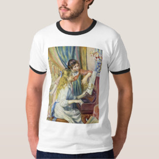 Two Girls At The Piano,  By Pierre-Auguste Renoir Tshirt